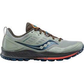 saucony Peregrine 10 Shoes Men, pine/orange